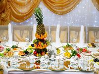 Хиты летнего свадебного меню