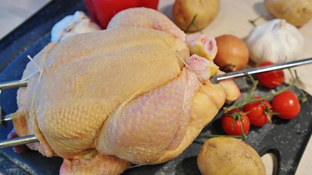 Антибиотики в мясе птицы