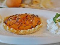 Пирог «Аляска» и рисовый пирог с абрикосами