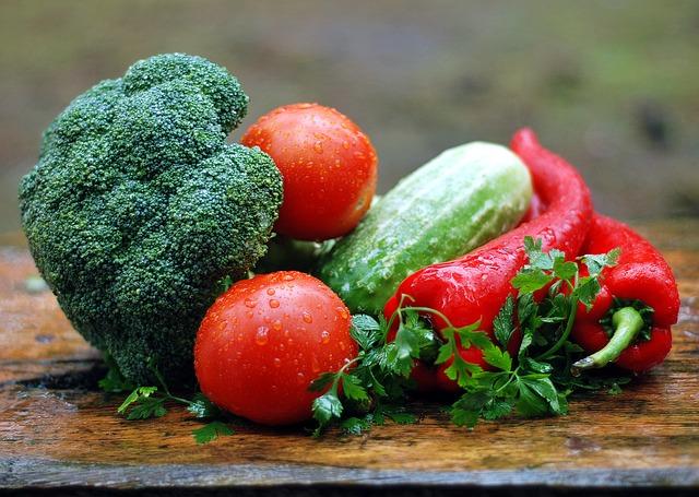 Едим овощи