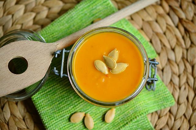 Суп-пюре диетический из моркови с курагой