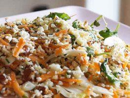 как приготовить цветную капусту вкусно рецепт салата из цветной капусты